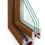 PVC logi Gealan 9000 sasniedz teicamu siltuma vadītspējas koeficientu Uw = 0,96 W / m2K