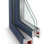 PVC logi Gealan 8000 ir produkts ar 74 mm iebūves dziļumu