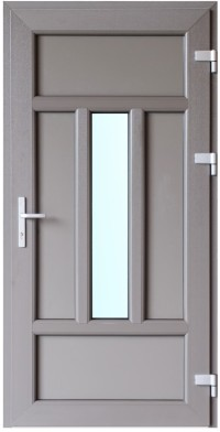 Akril krāsa, dizains un papildu aprīkojums padara PVC durvis ideāli piemērotas jebkura veida arhitektūrai un interjera dizainam