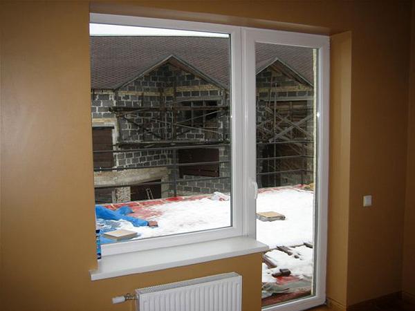 Mūsu logu un durvju realizācijas piemērs MKO-008