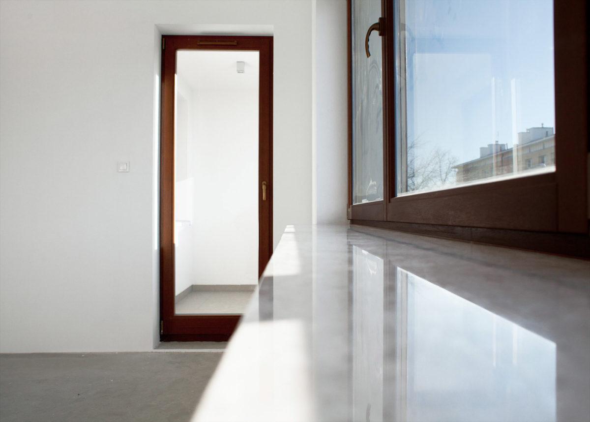 Mūsu PVC, plastikāta pakešu logu un durvju realizācijas piemērs MPO-014
